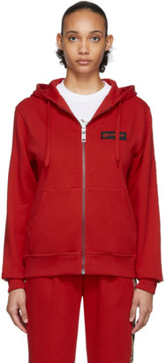 Burberry Red Aubree Hoodie