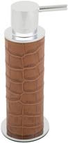 A by Amara - Morfe Leather Soap Dispenser - Camel