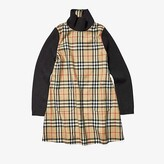 Burberry Adeline Dress (Big Kids) (Archive Beige IP Check) Girl's Clothing