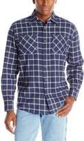 Wrangler Men's Authentics Long Sleeve Flannel Shirt