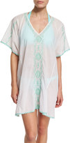 Letarte Mystique Embroidered Caftan Coverup