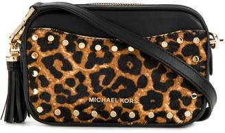 MICHAEL Michael Kors leopard print camera bag