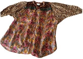 Anthropologie Multicolour Cotton Tops