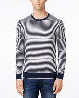 Michael Kors Men's Feeder Striped Crew-Neck Sweater