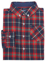 Andy & Evan Boys 2-7 Holiday Plaid Flannel Shirt