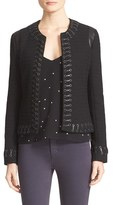 L'Agence Women's Whipstitch Trim Jacket