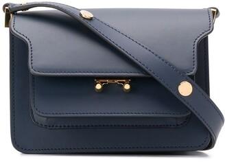 Marni pocket leather cross body bag