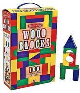 Melissa & Doug ; 100-pc. Wood Block Set
