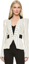 Thierry Mugler Striped Blazer