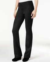 Style&Co. Style & Co Faux-Suede Pull-On Pants, Only at Macy's