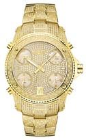 Men's JBW Jet Setter Multi-Time Zone Swiss Movement Real Diamond Watch