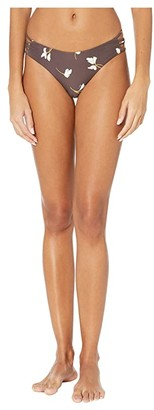 O'Neill Mai Floral Strappy Hipster Bottoms (Brown) Women's Swimwear