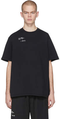 Song For The Mute Black AM/PM Standard T-Shirt