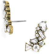 BaubleBar Crystal Triangulum Ear Crawlers
