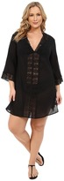 LaBlanca La Blanca Plus Size Island Fare Tunic Cover-Up