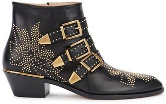 Chloé Susannah 40 Studded Leather Ankle Boots