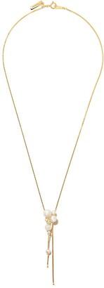 TASAKI 18kt yellow gold Akoya pearl pendant necklace