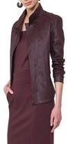 Akris Punto Women's Leather Front Jacket