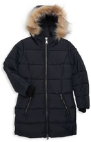 Pajar Little Girl's & Girl's Jayde Faux Fur-Trim Puffer Coat