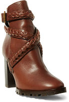 Polo Ralph Lauren Motina Vachetta Leather Boot