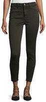 DL1961 No. 2 Super Skinny Ultra High-Rise Ankle Jeans, Grassland
