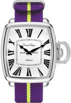 Glam Rock Men's Vintage Two Tone Nylon Band Steel Case Quartz Watch Gr28084f