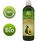 Honeydew Avocado Oil For Hair Skin Nails Cold Pressed Antioxidant Nutrient Rich Oil Great as Massage Oil Anti-Aging Anti-Wrinkle Skin Care Shiny Hair With Vitamins A K E Healthy Fatty Acids for Women and Men