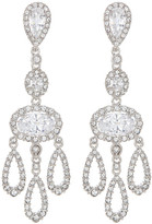 Nadri CZ Chandelier Drop Earrings