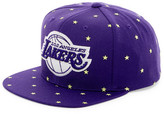 Mitchell & Ness Lakers Starry Night Glow-in-the-Dark Snapback