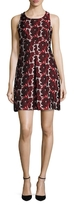 Rachel Roy Floral Jacquard Shift Dress