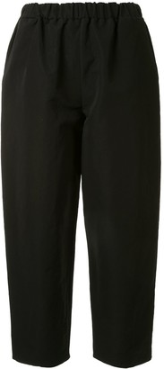 Dusan cropped Pajama trousers