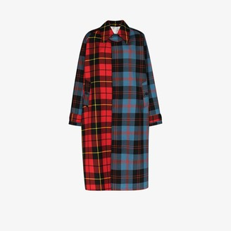 Charles Jeffrey Loverboy X Browns 50 Doctors Mac tartan coat