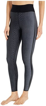 ULTRACOR Pearls Ultra High Leggings (Pearls Nero Print/Patent Nero) Women's Casual Pants