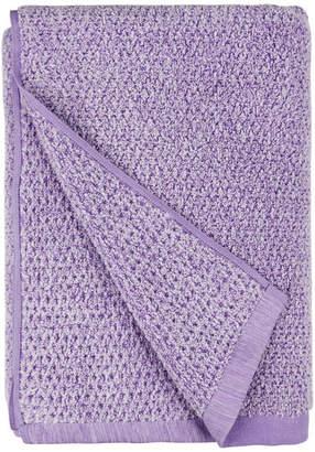 Everplush Diamond Jacquard Bath Towel, Lavender