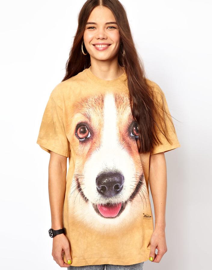 Corgi The Mountain T-Shirt