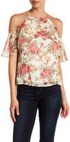 WAYF Lantana Off Shoulder Ruffle Top