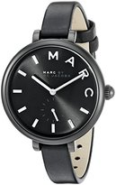 Marc by Marc Jacobs Marc Jacobs Women's Sally Black Leather Watch - MJ1417