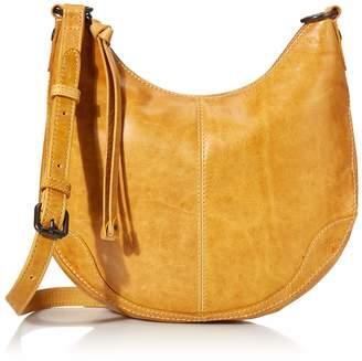 Frye Melissa Small Zip Scooped Hobo Crossbody Bag