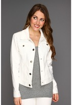 Jag Jeans Rupert Jacket Solid Sanded Twll (Double Cream) - Apparel