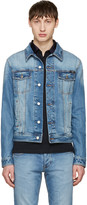 Ami Alexandre Mattiussi Blue Denim Jacket