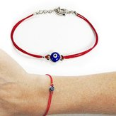 YingUs Fashion Men Women Evil Eye String Kabbalah Bracelet Jewelry