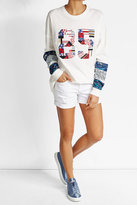 AG Jeans Distressed Denim Shorts
