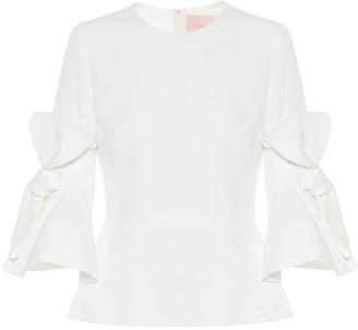 Roksanda Kemi cady bridal blouse
