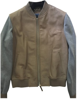 Louis Vuitton Beige Leather Jackets