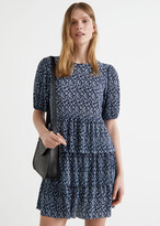 Thumbnail for your product : And other stories Tiered Printed Mini Dress