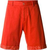 Etro washed chino shorts - men - Cotton/Spandex/Elastane - 56