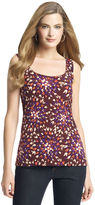 Anne Klein Abstract Floral Print Tank