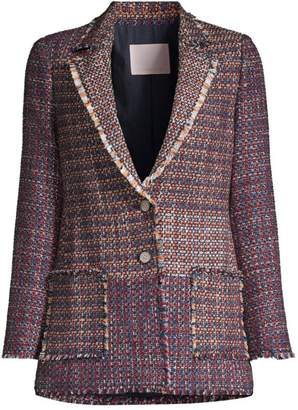 Rebecca Taylor Blanket Tweed Jacket
