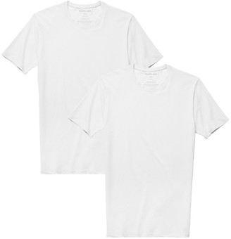Tommy John Basics Stay-Tucked Crew Neck Undershirt - Pack of 2