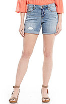Miraclebody Jeans MIRACLEBODY JEANSTM Faith Destruction Detail Shorts